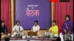 Audience enjoyed Jugalbandhi at Baithak