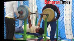 District power lifting and bench press competition in Varanasi