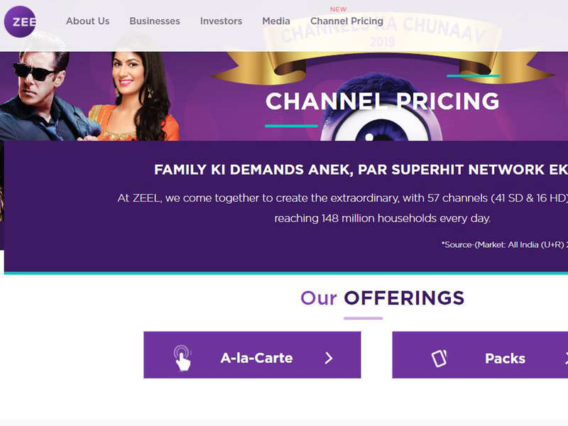 TV Channel Price List: Your TV bill is set to change from