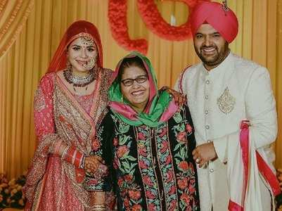 Kapil's wife Ginni wishes her mother-in-law