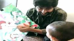 'Jersey' star Nani celebrated Sankranti with his 'little potlam' Junnu, aka, Arjun