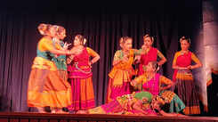 Students of Dhananjaya's performance at Sivagami pethachi hall