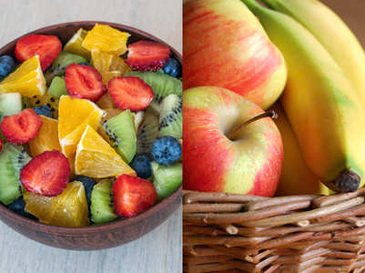 Fruit salad versus whole fruit: Which is healthier?