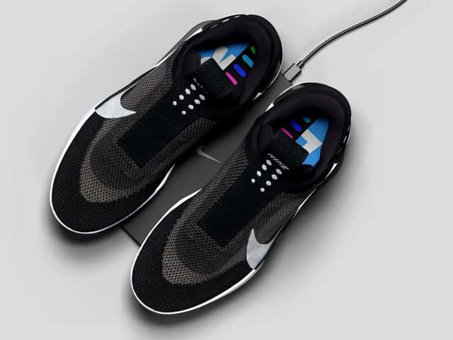 Nike launches 'smart' shoes that fit without you touching them, support wireless charging