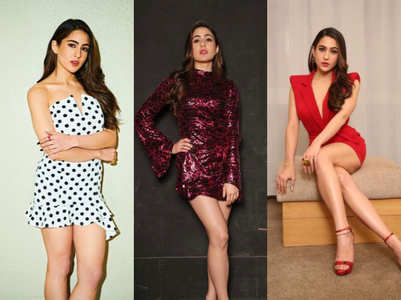 Style alert: 10 hottest looks of Sara Ali Khan