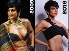 Mandira Bedi mystifies fans with #10YearChallenge photos