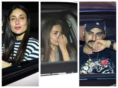 Bebo, Malaika-Arjun party at KJo's house