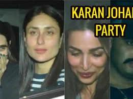 Malaika Arora, Arjun Kapoor, Kareena Kapoor Khan and others attend Karan Johar's party