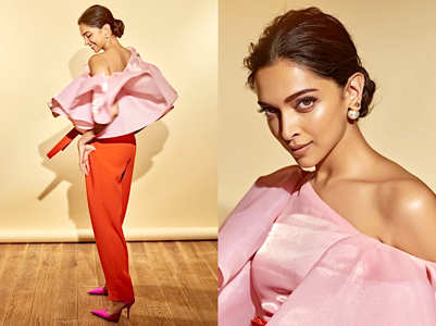 Trend alert: Deepika Padukone just wore pink and red together!