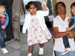 Taimur Ali Khan, Nisha Kaur Weber steal limelight at Rannvijay Singha's daughter Kainaat's birthday bash