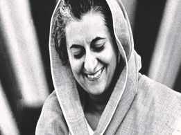 A play tracing the life of Indira Gandhi