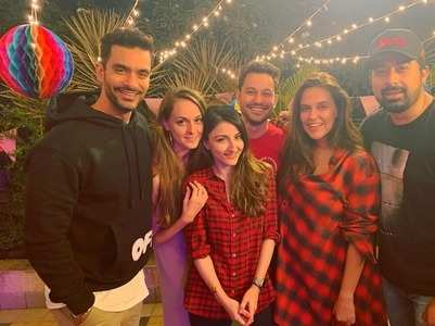 Celebs attend Rannvijay's daughter's bash