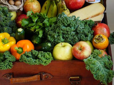 How to eat more fruits and vegetables in a day