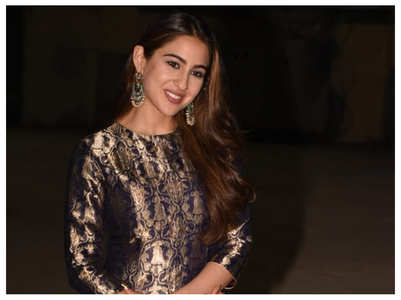 Watch: Sara Ali Khan preps for a performance