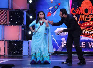 Krushna congratulates Bharti for her super success