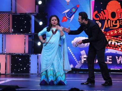 Krushna congratulates Bharti for her super success