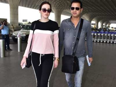 Rahul-Natalya off for their honeymoon