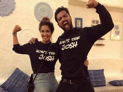Pic: Vicky Kaushal and his allaged girlfriend