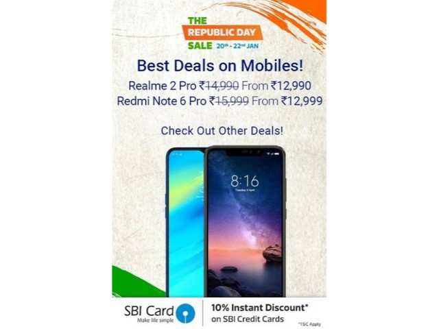 Flipkart's Republic Day sale: Deals on Honor 10 Lite, Realme 2 Pro, Redmi Note 5 Pro and others revealed