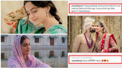 Sonam Kapoor posts #10YearChallenge pic; Anand Ahuja says show off