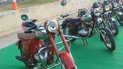 Vintage Bike show at Prozone mall