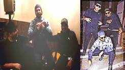 Hilarious! Ranveer Singh performs 'Mere Do Anmol Ratan' with real-life Gully Boys