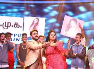 Namitha features in Dance Vs. Dance show