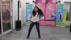 Students showed off their dancing skills