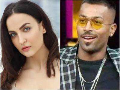 Elli AvrRam reacts on Pandya's sexist comments