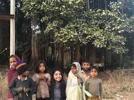 Bhoomi Trivedi shares an adorable photo with some children
