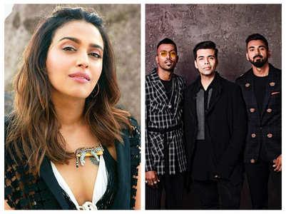 Swara Bhasker on Pandya-Rahul controversy
