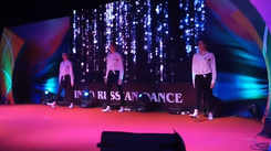 The model performance by 'No Face' dance group