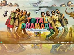'Total Dhamaal' new poster: Ajay Devgn, Madhuri Dixit, Anil Kapoor and others are set on a never-ending adventure