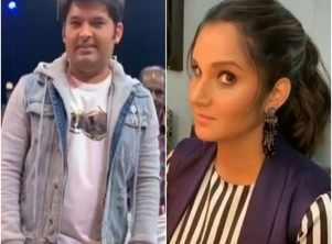 WATCH: Sania Mirza pulls Kapil's leg on TKSS