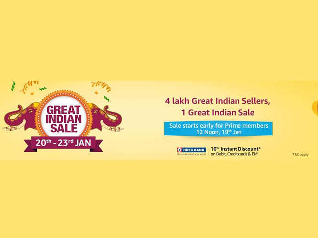 Amazon Great Indian Sale starts for Prime members: Exclusive discounts on Apple, Samsung phones; Xiaomi, TCL TVs and more