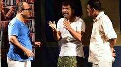 'Andakadahathile Kallu' drama at Changampuzha Park