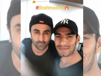 Ranbir Kapoor's selfie with his stuntman