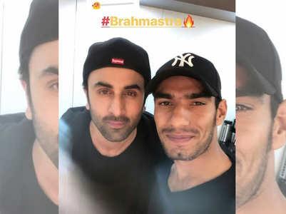 Ranbir Kapoor's selfie with his stuntman