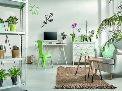 Simple ways to have a green corner in your home