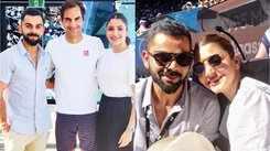 Virat Kohli, Anushka Sharma enjoy day off at Australian Open, shares Insta pictures