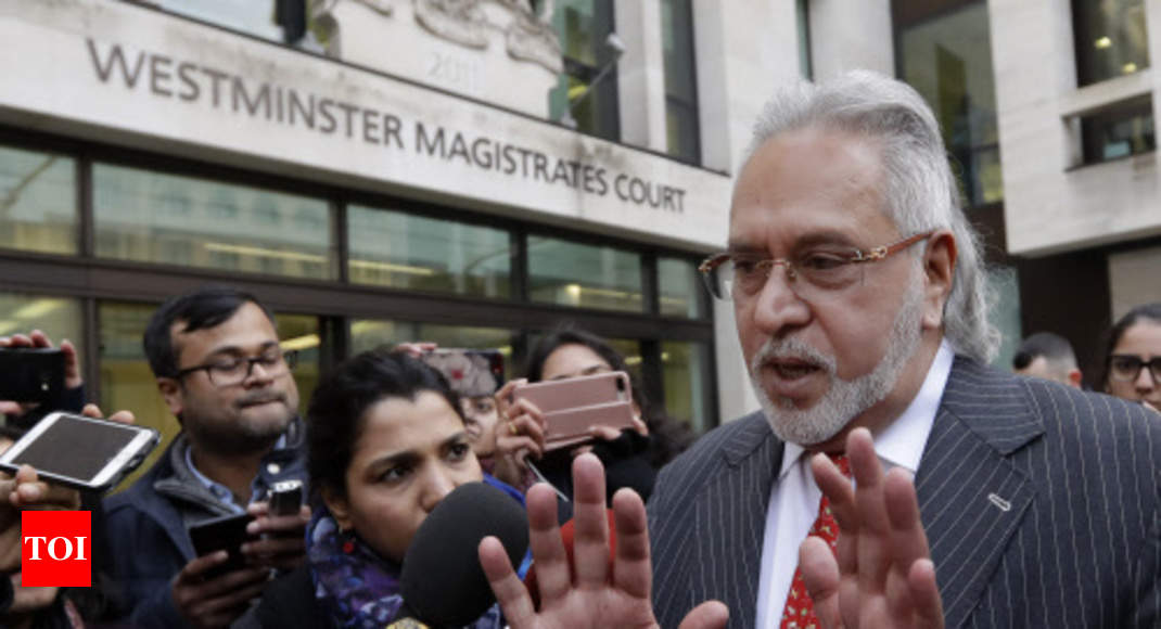 Vijay Mallya can't stay in UK by making political vendetta claims: Judge - Times of India ►