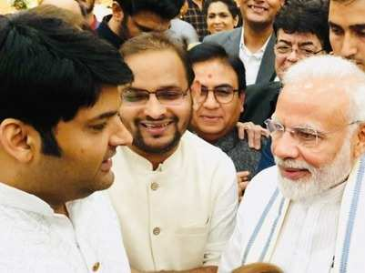 PM Modi thanks Kapil for praising his sense of humour