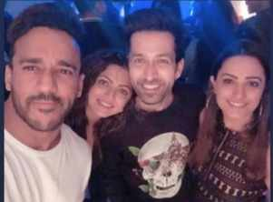 Nakuul's BFF's party hard at his bday bash