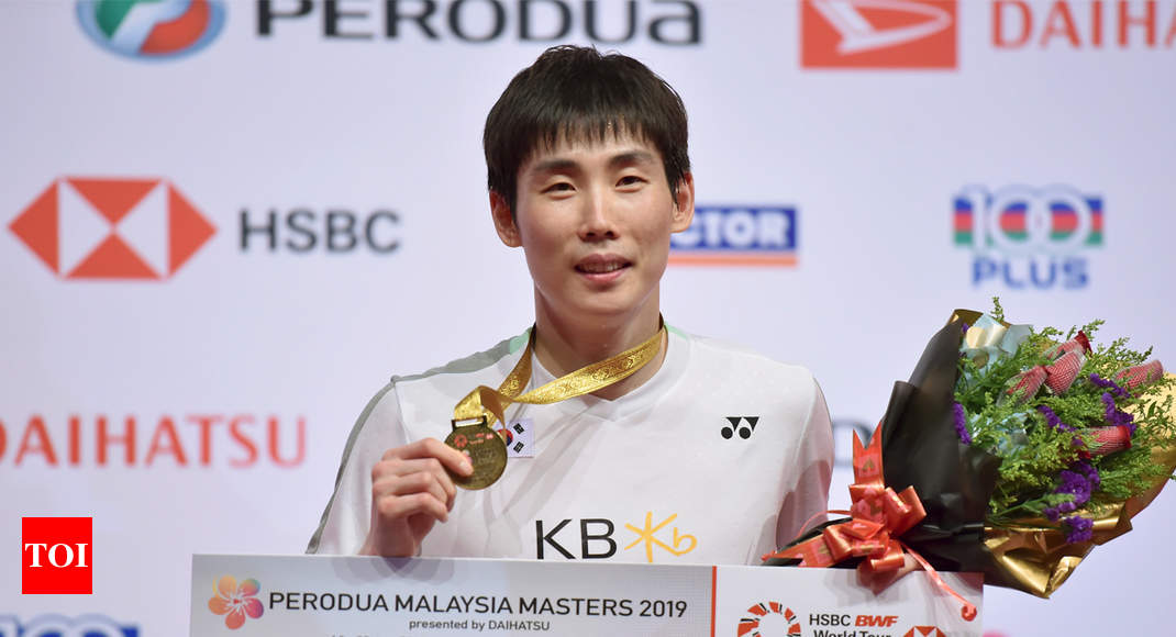 Son trounces Chen in Malaysia badminton final