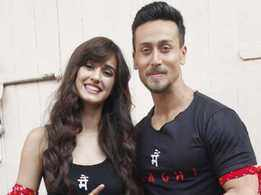 Watch: Disha Patani and Tiger Shroff catch up for a lunch date