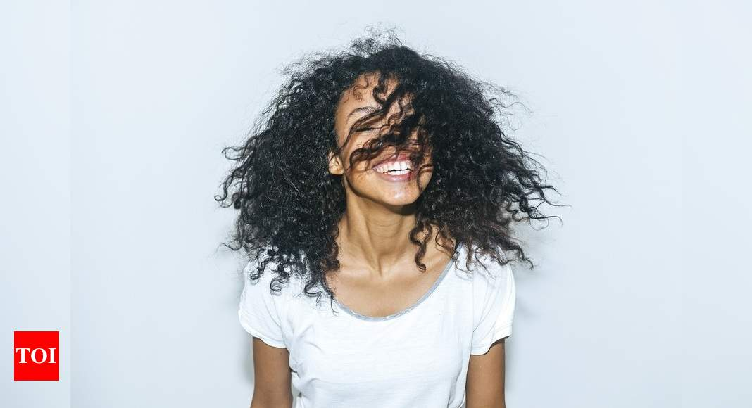 Five Cool Ways To Style Curly Hair Times Of India