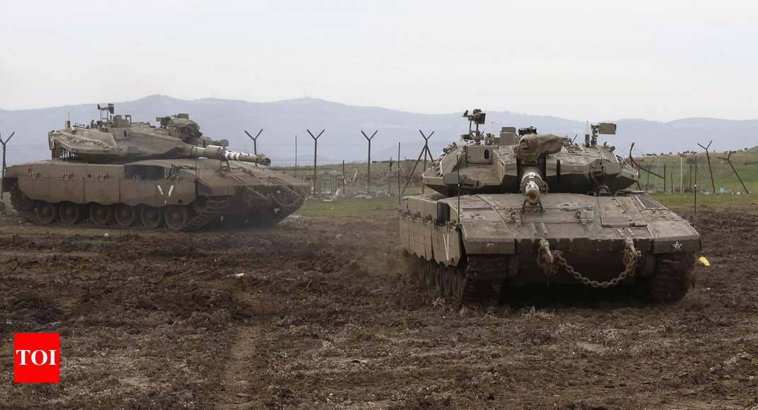 In rare move, Israel confirms attacking Iran forces in Syria