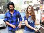 Harshvardhan Rane and girlfriend Kim Sharma