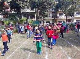 Sports Day held in Sector-34, Noida