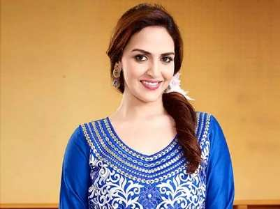 Esha Deol announces her pregnancy adorably